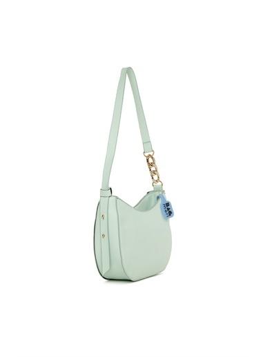 Bagmori  Kadın Troklu Zincirli Kalıp Baget M000006012 Yeşil